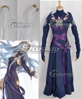 Fire Emblem If - Aqua Fanmade Dark Coloration Cosplay Costume