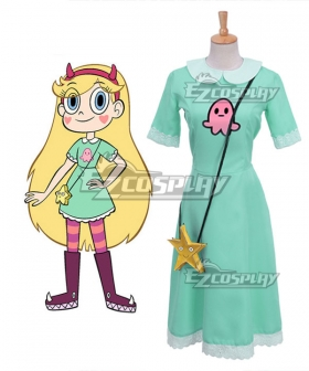 Star vs. the Forces of Evil Princess Star Butterfly Cosplay Costume