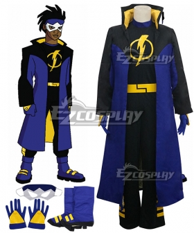 DC Comics Static Shock Virgil Ovid Hawkins Cosplay Costume