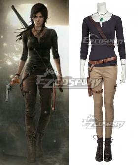Tomb Raider Season Lara Croft  Outfits Cosplay Costume - No Boots
