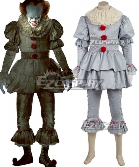 It 2017 Movie Pennywise Halloween Cosplay Costume