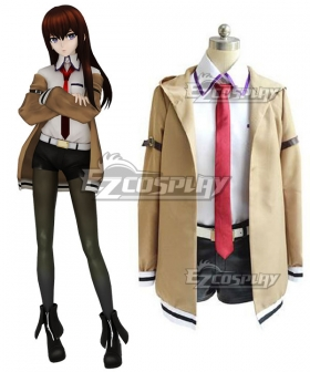 Steins;Gate Steins Gate Kurisu Makise Cosplay Costume