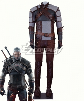 The Witcher 3 Wild Hunt Geralt of Rivia Cosplay Costume - New Edition