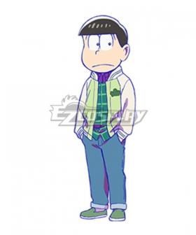 Mr. Osomatsu San Todomatsu Matsuno Matsuno Choromatsu Season 3 Cosplay Costume