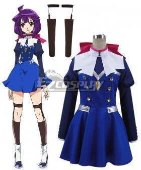 Concrete Revolutio Konkuriito Reborutio Choujin Gensou Hoshino Kikko Cosplay Costume