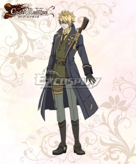 Code: Realize Guardian of Rebirth Abraham Van Helsing Cosplay Costume