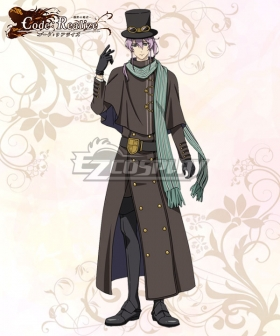 Code: Realize Guardian of Rebirth Herlock Sholmes Cosplay Costume