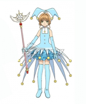 Cardcaptor Sakura: Clear Card Sakura Kinomoto Ball Battle Clothing Cosplay Costume