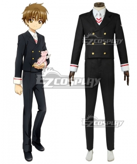 Cardcaptor Sakura: Clear Card Syaoran Li Uniform Cosplay Costume