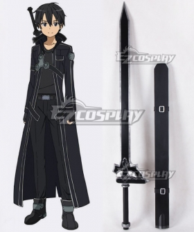 Sword Art Online SAO Kirigaya Kazuto Kirito Sword Cosplay Weapon Prop