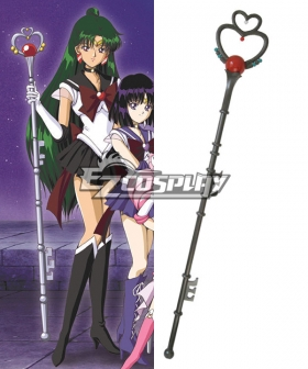 Sailor Moon S Meiou Setsuna Sailor Pluto Cosplay Weapon