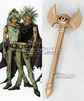 Yu-Gi-Oh Yugioh  Duel Monsters Marik Ishtar Cane Cosplay Prop