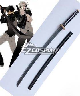 Gangsta Gyangusuta Nicolas Brown Nic Sword Cosplay Weapon Prop