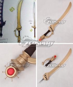 Fire Emblem Awakening Sol Katti Sword Cosplay Weapon Prop