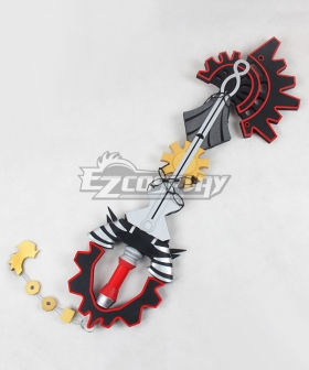 Kingdom Hearts Aqua Key blade Cosplay Weapon Prop