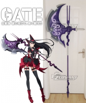 Gate Jieitai Kanochi nite Kaku Tatakaeri Gate Thus the JSDF Fought There Rory Mercury Ax Cosplay Weapon Prop - A