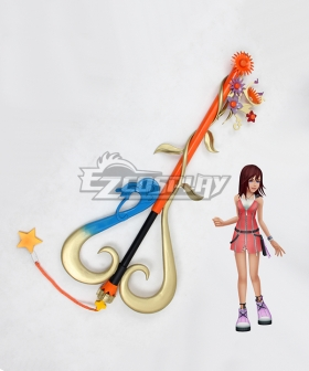Kingdom Hearts Kairi Destiny's Embrace Keyblade Cosplay Weapon Prop