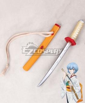 Neon Genesis Evangelion EVA Ayanami Rei Sword Cosplay Weapon Prop