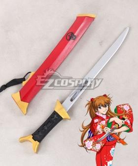 Neon Genesis Evangelion EVA Asuka Langley Soryu Sword Cosplay Weapon Prop