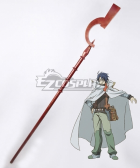 Log Horizon Shiroe Staves Cosplay Weapon Prop