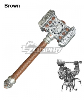 World of Warcraft WOW Ogrim Doomhammer Cosplay Weapon Prop