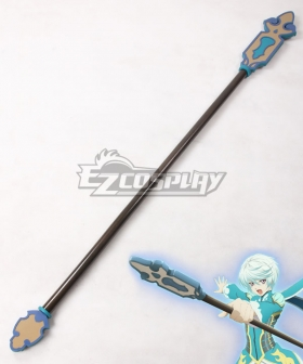 Tales of Zestiria the X Mikleo Staves Cosplay Weapon Prop