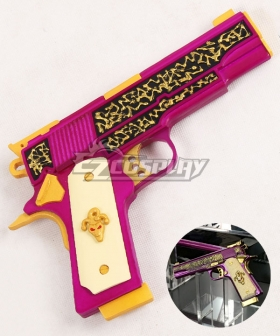 DC Detective Comics Batman Suicide Squad Task Force X Joker 2016 Movie Gun Cosplay Weapon Prop