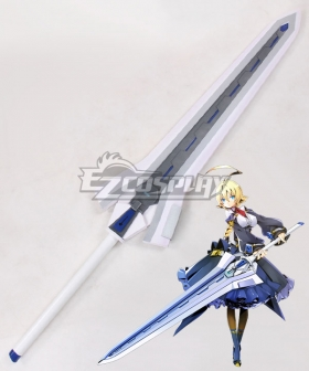 Blazblue Central Fiction XBlaze Code Embryo ES Embryo Storage Sword Cosplay Weapon Prop