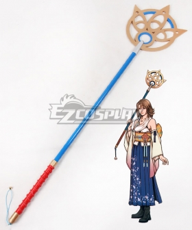 Final Fantasy X FF10 Yuna Staves B Cosplay Weapon Prop
