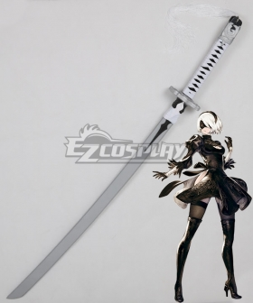 NieR: Automata 2B 9S YoRHa No.2 Type B YoRHa No.9 Type S Katana Sword Cosplay Weapon Prop