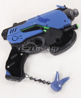 Overwatch OW D.Va DVa Hana Song Blueberry Gun Cosplay Weapon Prop