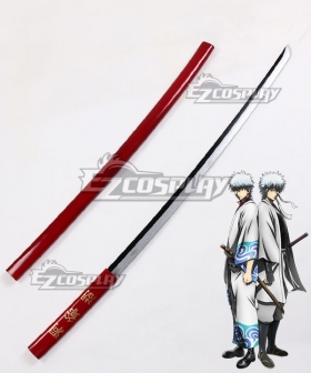 Gintama Sakata Gintoki Touyako Sword Cosplay Weapon Prop
