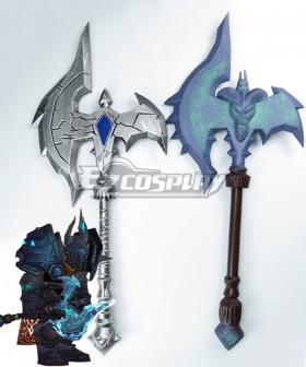 World of Warcraft WOW Shadowmourne Axe Cosplay Weapon Prop