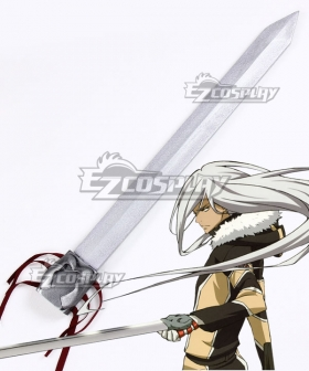 Katekyo Hitman Reborn Superbia Squalo Sword Cosplay Weapon Prop