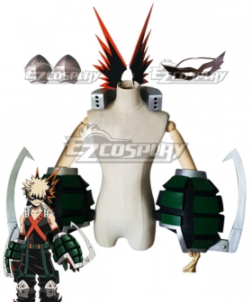 My Hero Academia Boku no Hero Akademia Katsuki Bakugou Full Set Cosplay Weapon Prop