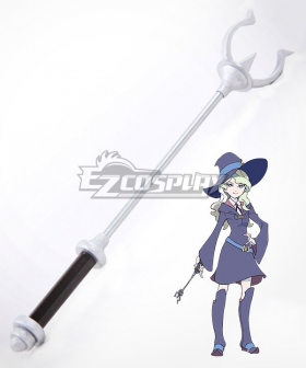 Little Witch Academia Atsuko Kagari Sucy Manbavaran Diana Cavendish Amanda O'Neill Staves Cosplay Weapon Prop - A Edition