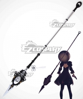 NieR: Automata 2B 9S YoRHa No.2 Type B YoRHa No.9 Type S Virtuous Dignity Spear Cosplay Weapon Prop