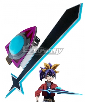 Yu-Gi-Oh! ARC-V Celina Serena Duel Disk Cosplay Weapon Prop