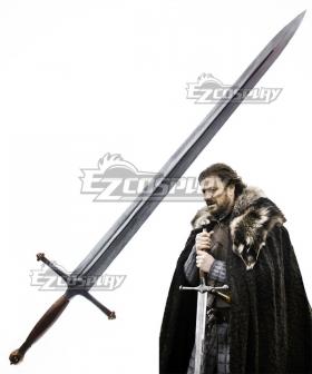 Game of Thrones Eddard Stark Sword 130cm Cosplay Weapon Prop