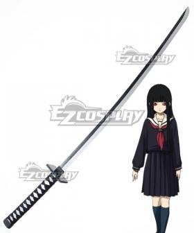 Hell Girl: Yoi no Togi Ai Enma Sword Cosplay Weapon Prop