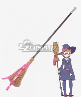 Little Witch Academia Lotte Yanson Ursula Atsuko Kagari Sucy Manbavaran Constanze Braunschbank Albrechtsberger Broom Cosplay Weapon Prop