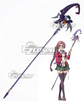 The Legend of Heroes: Trails of Cold Steel Emma Millstein Staves Cosplay Weapon Prop
