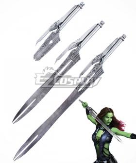 Guardians of the Galaxy Gamora Three Swords Daggers Cosplay Weapon Prop