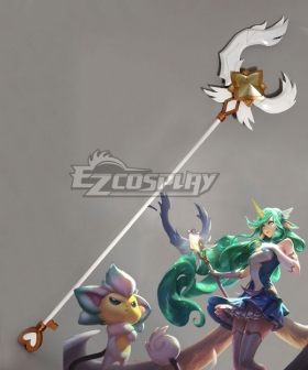 League of Legends LOL Star Guardian Soraka Wands Cosplay Weapon Prop - A Edition