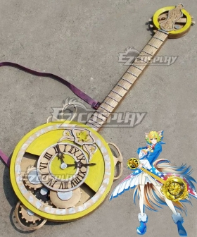 Show By Rock Shuzo Guitar Cosplay Weapon Prop