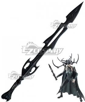 Marvel Thor 3 Ragnarok Trailer Hela Sword Cosplay Weapon Prop