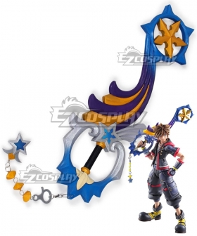 Kingdom Hearts III Kingdom Hearts 3 Sora Star Seeker Keyblade Cosplay Weapon Prop