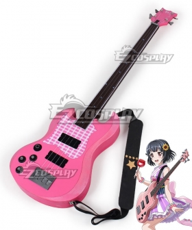 BanG Dream ! Girls Band Party! Ushigome Rimi Guitar Cosplay Weapon Prop