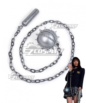 Kill Bill Gogo Yubari Meteor Hammer Cosplay Weapon Prop