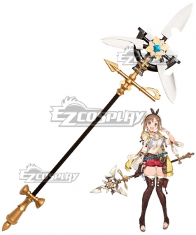 Atelier Ryza: Ever Darkness & the Secret Hideout Reisalin Stout Raizarin Shutauto Raiza Staff Cosplay Weapon Prop
